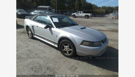 2002 Ford Mustang Convertible for sale 101288603
