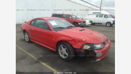 2002 Ford Mustang Coupe for sale 101349620