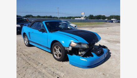 2002 Ford Mustang Convertible for sale 101372826