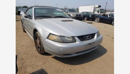2002 Ford Mustang Convertible for sale 101397621
