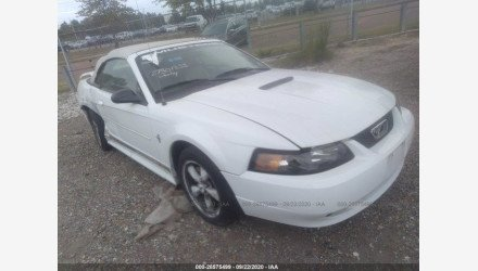 2002 Ford Mustang Convertible for sale 101409910