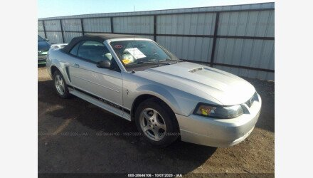 2002 Ford Mustang Convertible for sale 101409958