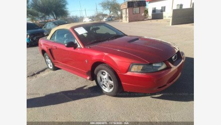 2002 Ford Mustang Convertible for sale 101410761