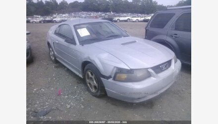 2002 Ford Mustang Coupe for sale 101411329
