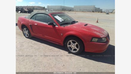 2002 Ford Mustang Convertible for sale 101413876
