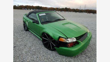 2002 Ford Mustang Convertible for sale 101436142