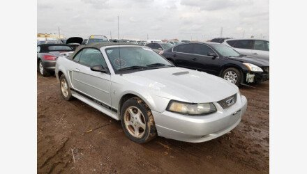 2002 Ford Mustang Convertible for sale 101436778