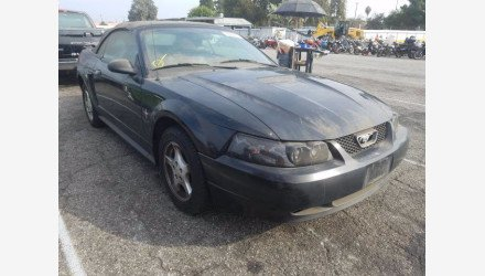 2002 Ford Mustang Convertible for sale 101439731