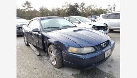 2002 Ford Mustang Convertible for sale 101441985