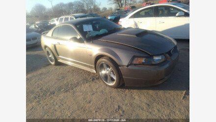 2002 Ford Mustang GT Coupe for sale 101442165
