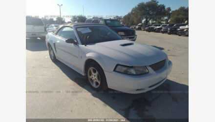 2002 Ford Mustang Convertible for sale 101442236