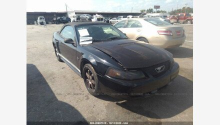2002 Ford Mustang Convertible for sale 101454027