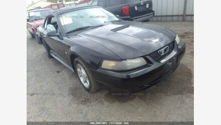 2002 Ford Mustang Convertible for sale 101464537