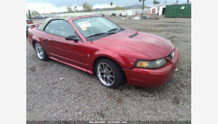 2002 Ford Mustang Convertible for sale 101485871