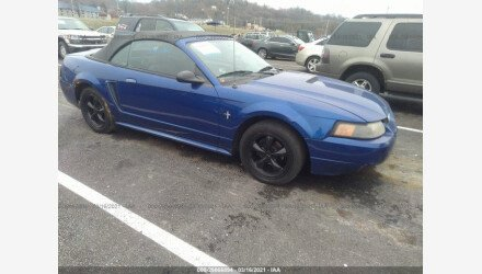 2002 Ford Mustang Convertible for sale 101490558