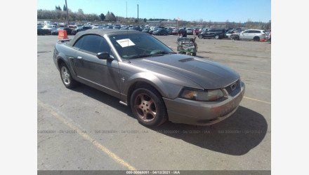 2002 Ford Mustang Convertible for sale 101493505