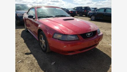 2002 Ford Mustang Convertible for sale 101494251