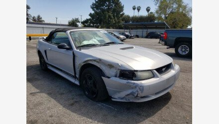 2002 Ford Mustang Convertible for sale 101503279