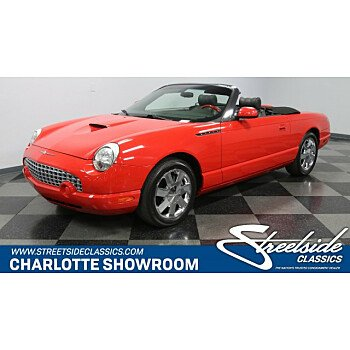 2002 Ford Thunderbird for sale 101082716