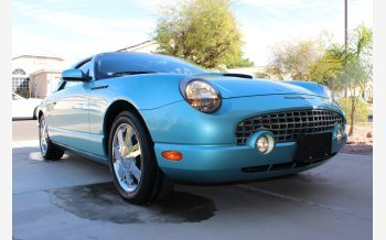 2002 Ford Thunderbird for sale 101505258