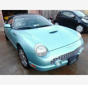 2002 Ford Thunderbird for sale 100291594