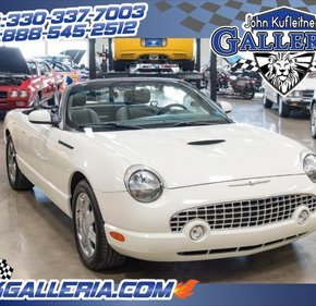 2002 Ford Thunderbird for sale 100970009