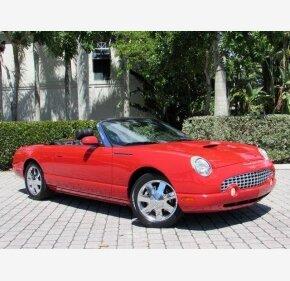 2002 Ford Thunderbird for sale 100998263