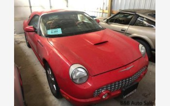 2002 Ford Thunderbird for sale 101084514