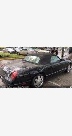 2002 Ford Thunderbird for sale 101107279