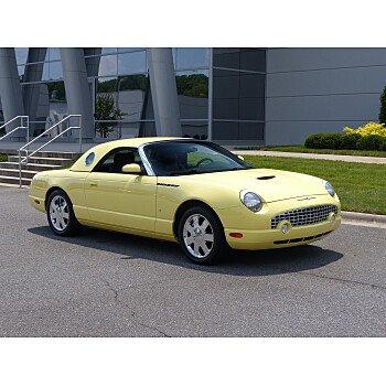 2002 Ford Thunderbird for sale 101183635