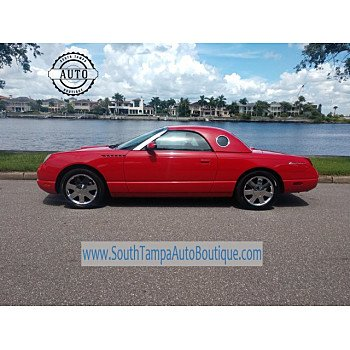 2002 Ford Thunderbird for sale 101183777
