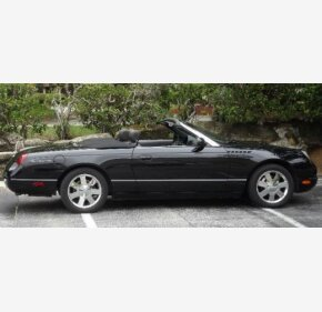 2002 Ford Thunderbird for sale 101260029
