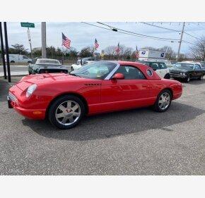 2002 Ford Thunderbird for sale 101303573