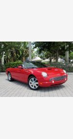2002 Ford Thunderbird for sale 101370068