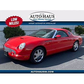 2002 Ford Thunderbird for sale 101389606