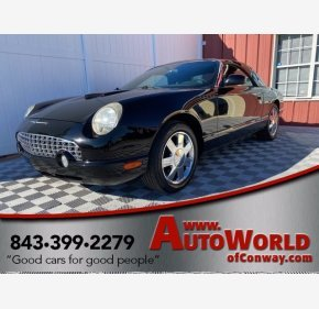 2002 Ford Thunderbird for sale 101419240