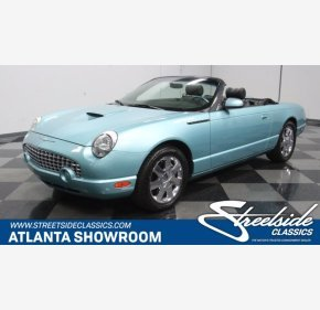 2002 Ford Thunderbird for sale 101428339