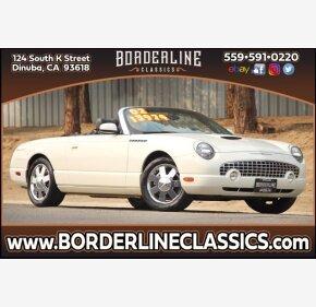 2002 Ford Thunderbird for sale 101438167