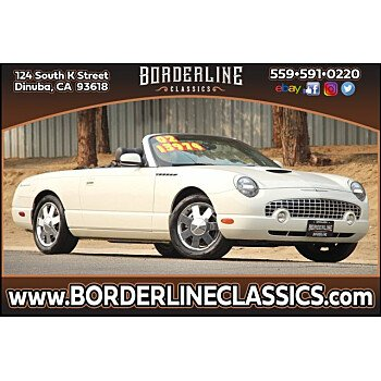 2002 Ford Thunderbird for sale 101438167