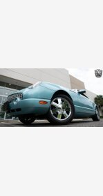 2002 Ford Thunderbird for sale 101464279