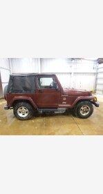 2002 Jeep Wrangler 4WD Sahara for sale 101109370