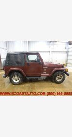 2002 Jeep Wrangler 4WD Sahara for sale 101109370