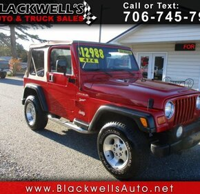 2002 Jeep Wrangler 4WD Sport for sale 101227522