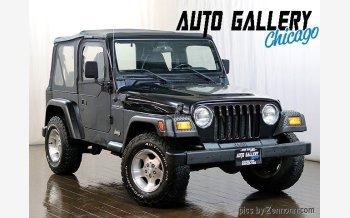2002 Jeep Wrangler 4WD X for sale 101243290