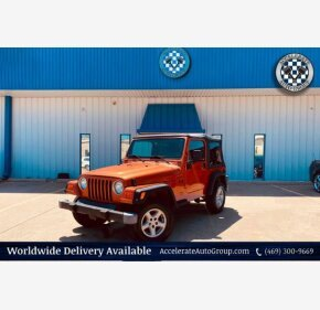 2002 Jeep Wrangler for sale 101348498