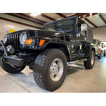 2002 Jeep Wrangler for sale 101386225