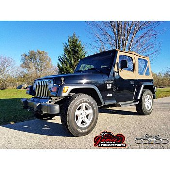 2002 Jeep Wrangler for sale 101386240