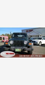 2002 Jeep Wrangler for sale 101392295