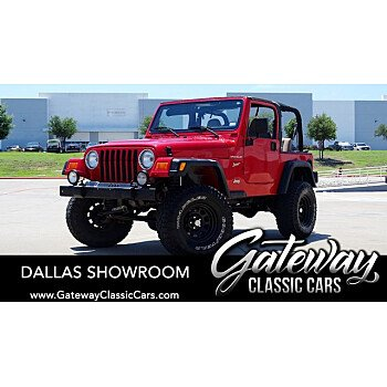 2002 Jeep Wrangler for sale 101555426