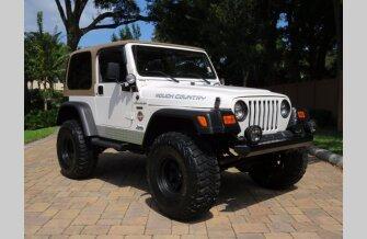 2002 Jeep Wrangler 4WD Sahara for sale 101618777